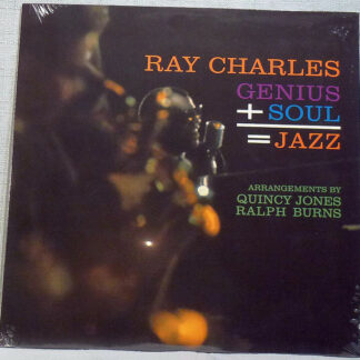 Ray Charles - Genius + Soul = Jazz (LP, Album, Ltd, RE, Cle)