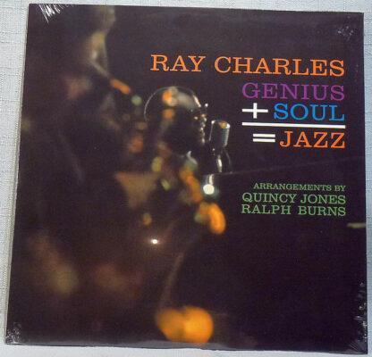 Ray Charles - Genius + Soul = Jazz (LP, Album, Ltd, RE, Cle)