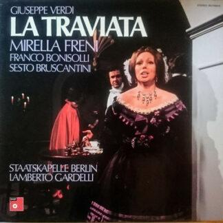 Giuseppe Verdi, Mirella Freni, Franco Bonisolli, Sesto Bruscantini, Lamberto Gardelli - La Traviata (3xLP + Box)