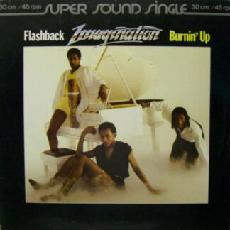 """Imagination - Flashback / Burnin' Up (12"""", Maxi)"""