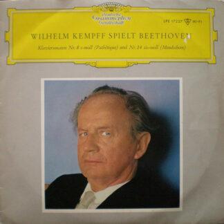"Wilhelm Kempff, Beethoven* - Wilhelm Kempff Spielt Beethoven (10"", Mono)"