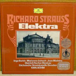 Richard Strauss - Sächsische Staatskapelle Dresden*, Inge Borkh, Marianne Schech, Jean Madeira, Dietrich Fischer-Dieskau, Karl Böhm - Elektra (2xLP + Box)