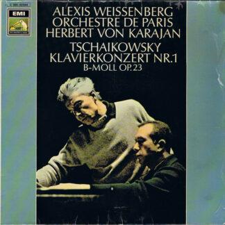 Peter Tschaikowsky* - Alexis Weissenberg, Herbert von Karajan, Orchestre De Paris - Klavierkonzert Nr. 1 B-moll Op. 23 (LP)