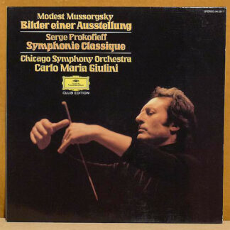 Carlo Maria Giulini, Chicago Symphony Orchestra* - Mussorgsky* / Prokofieff* - Bilder Einer Ausstellung / Symphonie Classique (LP, Club)