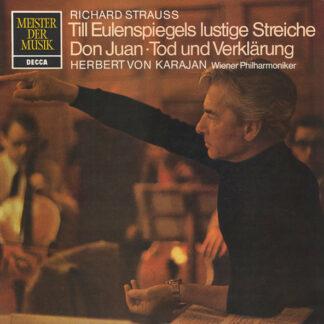 Richard Strauss, Herbert von Karajan, Wiener Philharmoniker - Till Eulenspiegels Lustige Streiche ⋅ Don Juan ⋅ Tod Und Verklärung (LP, Comp)