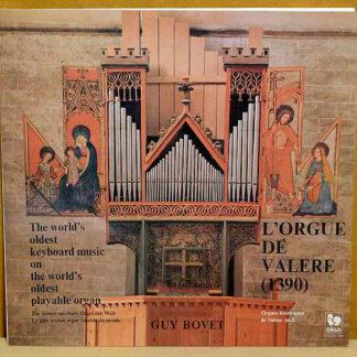 Guy Bovet - L'Orgue De Valère (1390) (LP)