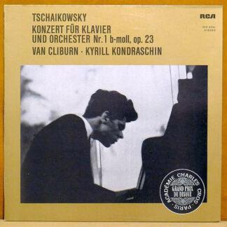 Tschaikowsky* – Van Cliburn • Kyrill Kondraschin* - Konzert Für Klavier Und Orchester Nr. 1 B-moll, Op. 23 (LP, Album, RE)
