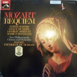 Mozart* - Edith Mathis, Grace Bumbry, George Shirley, Marius Rintzler, New Philharmonia Chorus And Orchestra*, Rafael Frühbeck De Burgos - Requiem D-Moll KV 626 (LP, Album)