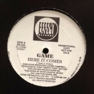 """Game (5) - Here It Comes (12"""", Promo)"""
