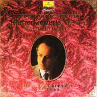Ludwig van Beethoven - Maurizio Pollini, Wiener Philharmoniker, Karl Böhm - Klavierkonzerte Nr. 3・4・5 (Box, Comp + 2xLP)