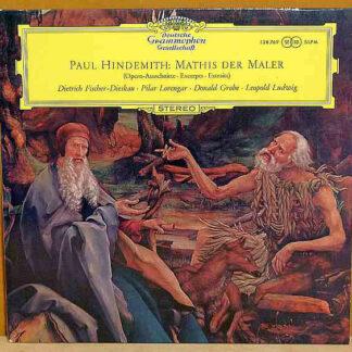 Paul Hindemith / Dietrich Fischer-Dieskau, Pilar Lorengar, Donald Grobe, Leopold Ludwig - Mathis Der Maler (Opern-Ausschnitte) (LP, Album)