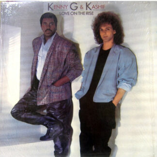 """Kenny G (2) & Kashif - Love On The Rise (12"""")"""