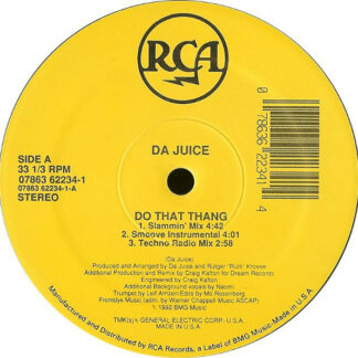 "Da Juice - Do That Thang (12"")"