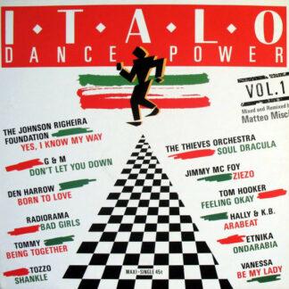 "Various - Italo Dance Power Vol. 1 (12"", Maxi, P/Mixed)"