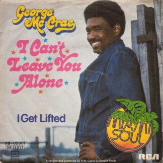 "George Mc Crae* - I Can't Leave You Alone (7"", Single)"