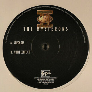 "The Mysterons - Check Dis / Vinyl Conflict (12"")"