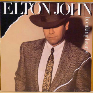 Elton John - Breaking Hearts (LP, Album)