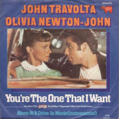 "John Travolta, Olivia Newton-John - You're The One That I Want (7"", Single)"