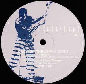 "Pretenders* - Back On The Chain Gang / My City Was Gone (12"", Single, Gen)"