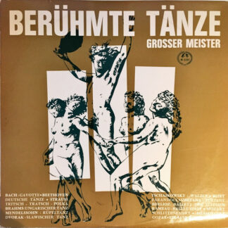 Various - Berühmte Tänze Grosser Meister (LP, Comp, Mono)