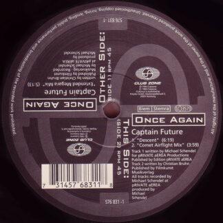 "Once Again - Captain Future (12"")"