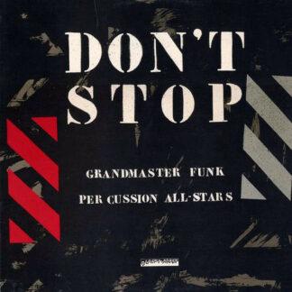 "Grandmaster Funk - Don't Stop (12"")"