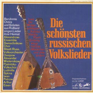 Various - Die Schönsten Russischen Volkslieder (LP, Comp)