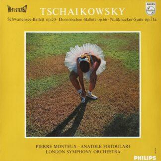 Tschaikowsky* / London Symphony Orchestra* / Pierre Monteux · Anatole Fistoulari - Schwanensee-Ballett op.20 · Dornröschen-Ballett op.66 · Nussknacker-Suite op.71a (LP, Album)