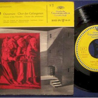 "Bamberger Symphoniker - Fidelio (Beethoven) (7"", Single, Mono)"