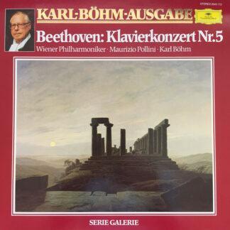 Beethoven* - Wiener Philharmoniker, Maurizio Pollini, Karl Böhm - Klavierkonzert Nr.5 (LP)