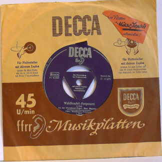"David ""Melody-Maker"" Mackersie* - Waldteufel - Potpourri (7"", Single)"