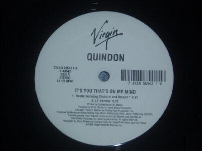 "Quindon - It's You That's On My Mind (12"")"