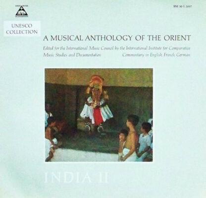 Alain Daniélou - India II - Music Of The Dance And Theatre Of South India (LP, Album, Mono)