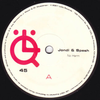 "Jondi & Spesh - No Harm (12"")"