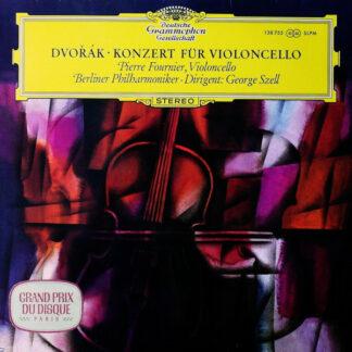 Dvořák* - Pierre Fournier ‧ Berliner Philharmoniker ‧ George Szell - Konzert Für Violoncello (LP, RP)