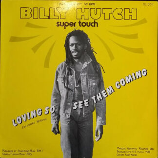 """Billy Hutch* - See Them Coming (12"""", Maxi)"""