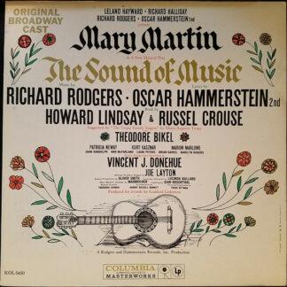 Leland Hayward, Richard Halliday, Richard Rodgers, Oscar Hammerstein 2nd* Present Mary Martin - The Sound Of Music (Original Broadway Cast) (LP, Album, Mono, Gat)