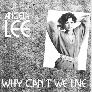 """Angela Lee - Why Can't We Live (12"""", Maxi)"""