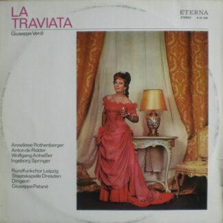 Giuseppe Verdi - Rundfunkchor Leipzig, Staatskapelle Dresden , Dirigent: Giuseppe Patanè - La Traviata (Opernquerschnitt) (LP, Comp, Bla)