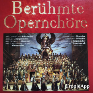 Various - Berühmte Opernchöre (4xLP)