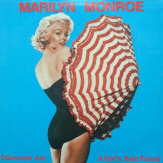 Marilyn Monroe - Diamonds Are A Girl's Best Friend (LP, Comp)