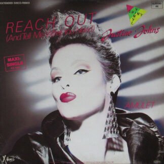 """Justine Johns - Reach Out (And Tell Me What You Need) (Extended Disco-Remix) (12"""", Maxi, Gre)"""