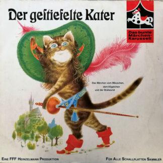 Brüder Grimm* - Der Gestiefelte Kater (LP, RE)