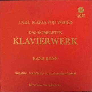 Carl Maria von Weber - Hans Kann - Das Komplette Klavierwerk (6xLP)
