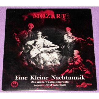 """Das Wiener Festspielorchester* - Eine Kleine Nachtmusik (7"""", EP)"""