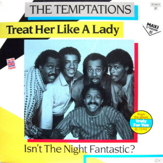 """The Temptations - Treat Her Like A Lady (12"""", Maxi, Whi)"""