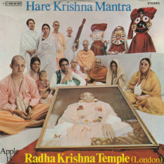 "Radha Krishna Temple (London)* - Hare Krishna Mantra (7"", Single)"