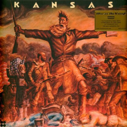 Kansas (2) - Kansas (LP, Album, Ltd, Num, RE)