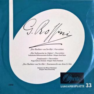 """Gioacchino Rossini - Ouvertüren (10"""", Comp)"""