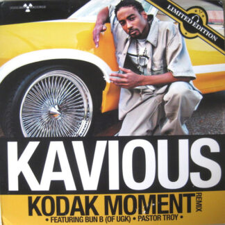 "Kavious - Kodak Moment (Remix) / On The Grind (12"", Single, Cle)"